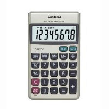 CASIO 계산기 LC-403TV(휴대용)