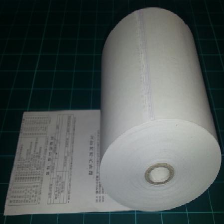 감열지(인쇄-할부약관/청발색 먹색혼용) 79*80mm(지관12mm) [50