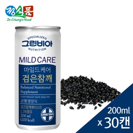 그린비아 마일드케어 검은참깨 200mlx30캔/BOX
