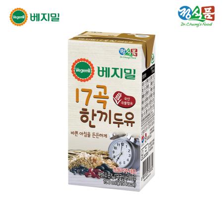 베지밀 17곡 한끼두유 190ml*16팩/SET