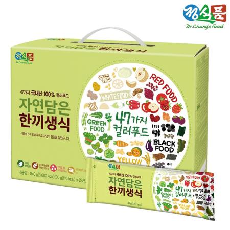 정식품 자연담은 한끼생식 30gx28포(약 4주분)/SET