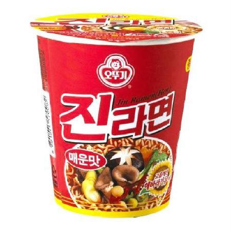 [오뚜기] 진라면 매운맛컵 65gx15개/BOX