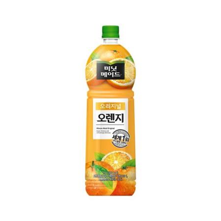 [미닛메이드] 오리지날 오렌지 100 1.5L/PET