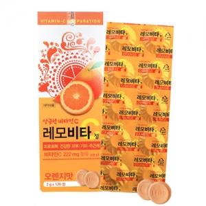레모비타C정  120정 오렌지맛