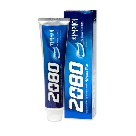 2080 어드밴스 블루 치약 120g