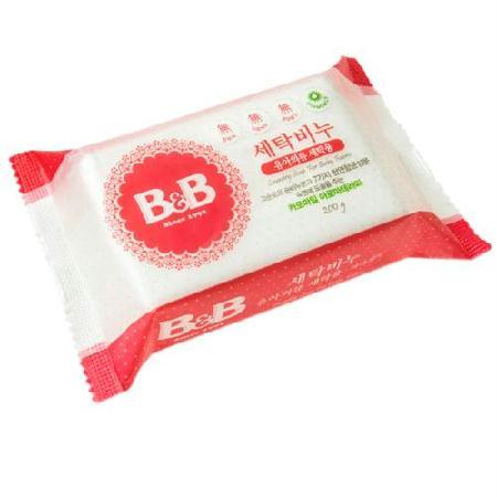 비앤비 세탁비누(유아의류세탁용/카모마일) 200gx4개