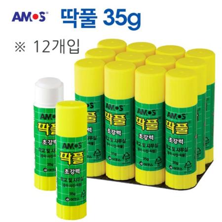 아모스 딱풀 35g 12입/SET
